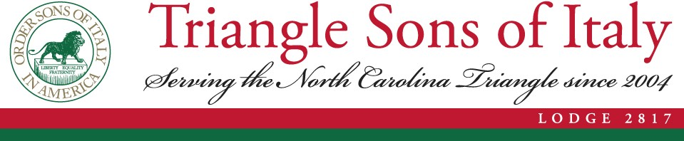 Triangle Sons of Italy Lodge 2817 - We exemplify the very best of what it is to be Italian American